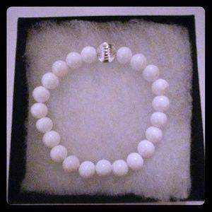 Jewelry - Snow Mountain Jade Stone Bracelet